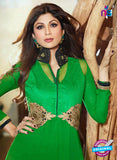 NS 11973 Green and Black Designer Anarkali Suit