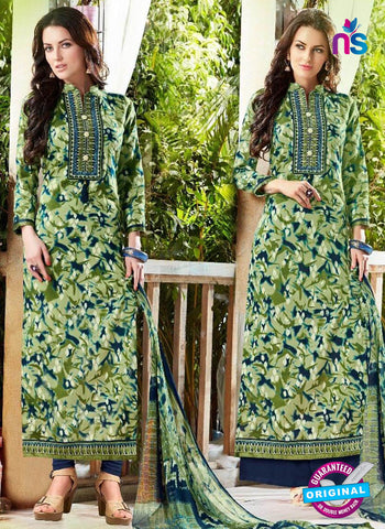 Levisha 6015 Green Formal Suit