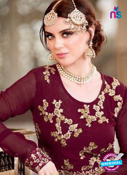 Jodha 601 Brown Indo Western Suit