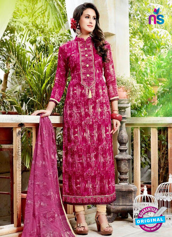 Levisha 6021 Magenta Formal Suit