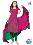 NS12133 Pink and Green Salwar Suit