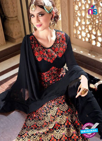 Jodha 603 Black Party Wear Suit