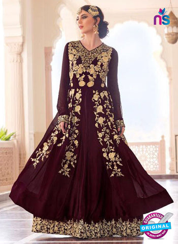 Jodha 604 Brown Indo Western Suit