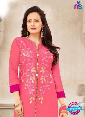 SC 42207 Pink Party Wear Suit