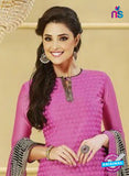 NS 11979 Pink and Black Designer Pajami Suit Online