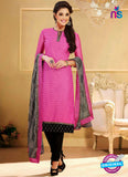 NS 11979 Pink and Black Designer Pajami Suit