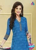 NS 11989 Blue and Black Designer Pajami Suit Online