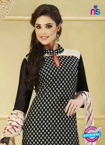 NS 11987 Black and Red Designer Pajami Suit Online