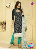 NS 11988 Black and Sea Green Designer Pajami Suit