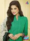 NS 11990 Green and Pink Designer Pajami Suit Online