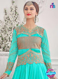 NS10275 Sky Blue Wedding Wear Korean Ly Kraw Designer Gawn