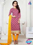 NS 11993 Pink and Yellow Designer Pajami Suit