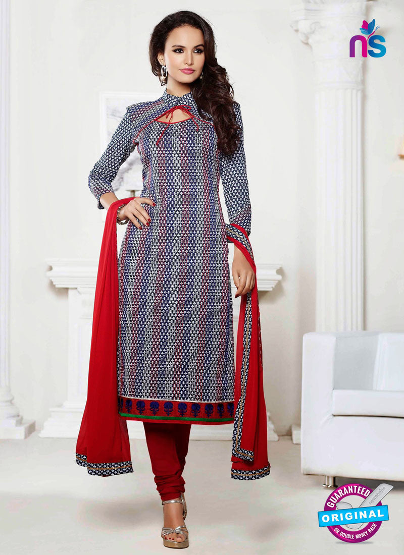NS 11995 Multicolor Designer Pajami Suit
