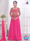NS10281 Magenta Wedding Wear Korean Ly Kraw Designer Gawn
