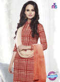 NS 11998 Orange Designer Pajami Suit Online