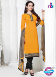 NS 11999 Yellow and Black Designer Pajami Suit