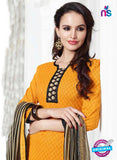 NS 11999 Yellow and Black Designer Pajami Suit Online