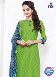 NS 12004 Light Green and Blue Designer Pajami Suit