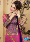 AZ 2335 Pink and Blue Crepe Pakistani Suit - Salwar Suits - NEW SHOP