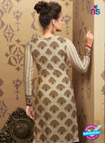 AZ 2343 Beige and Brown Crepe Pakistani Suit - Salwar Suits - NEW SHOP