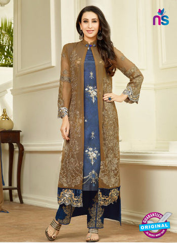 MF 67014 Brown Party Wear Suit