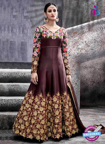 Hotlady 6772 Brown Anarkali Suit