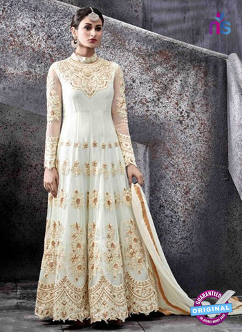 Hotlady 6775 White Anarkali Suit