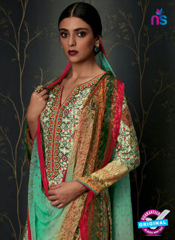 Heer 6802 Multicolor Pashmina Winter Suit