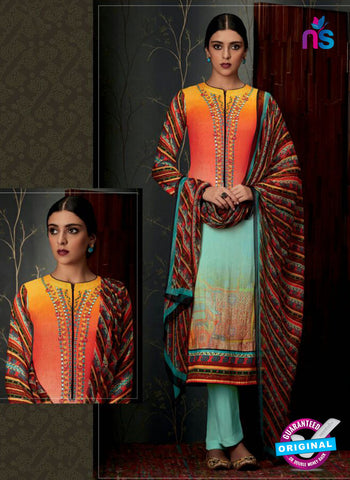 Heer 6807 Multicolor Pashmina Winter Suit
