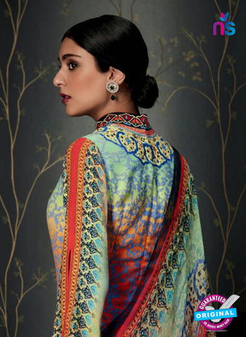 Heer 6808 Multicolor Pashmina Winter Suit