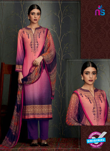 Heer 6811 Pink Pashmina Winter Suit