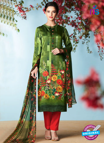 Heer 6901 Green Plazo Suit