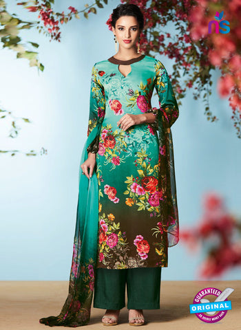 Heer 6903 Sea Green Plazo Suit