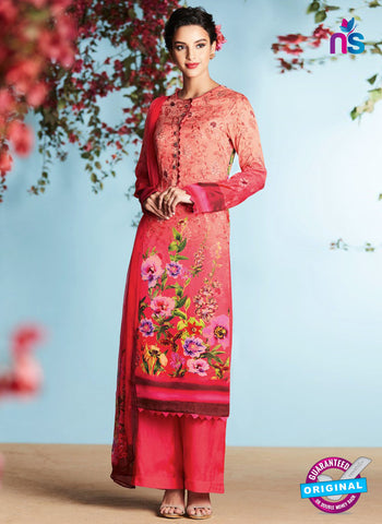Heer 6905 Peach Plazo Suit
