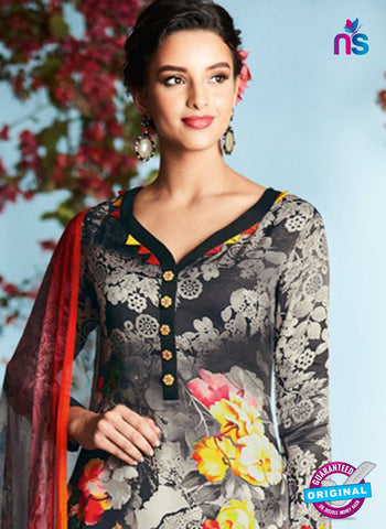 Heer 6906 Black Plazo Suit