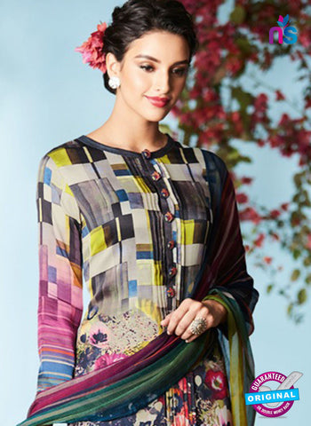 Heer 6907 Multicolor Plazo Suit