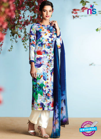 Heer 6909 Multicolor Plazo Suit