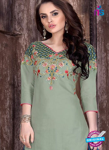 L05 Grey Cotton Patiala Salwar Suit