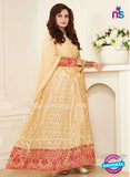 AZ 3959 Beige Georgette and Net Party Wear Anarkali Suit