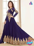 AZ 3962 Purple Georgette and Net Party Wear Anarkali Suit