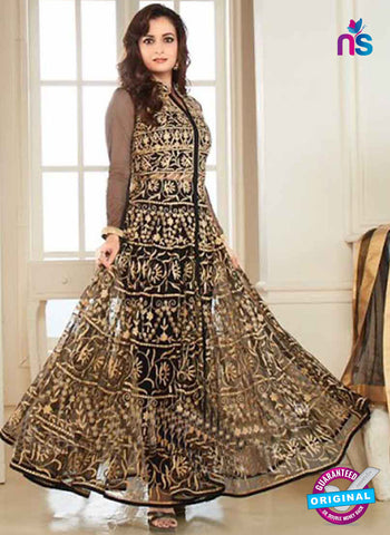AZ 3964 Black Georgette and Net Party Wear Anarkali Suit