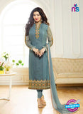 Zubeda 7001 Grey Brasso Embroidered Party Wear Suit