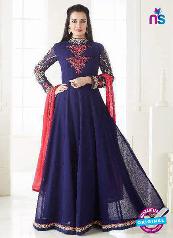 Aashirwad 7002 Blue Anarkali Suit