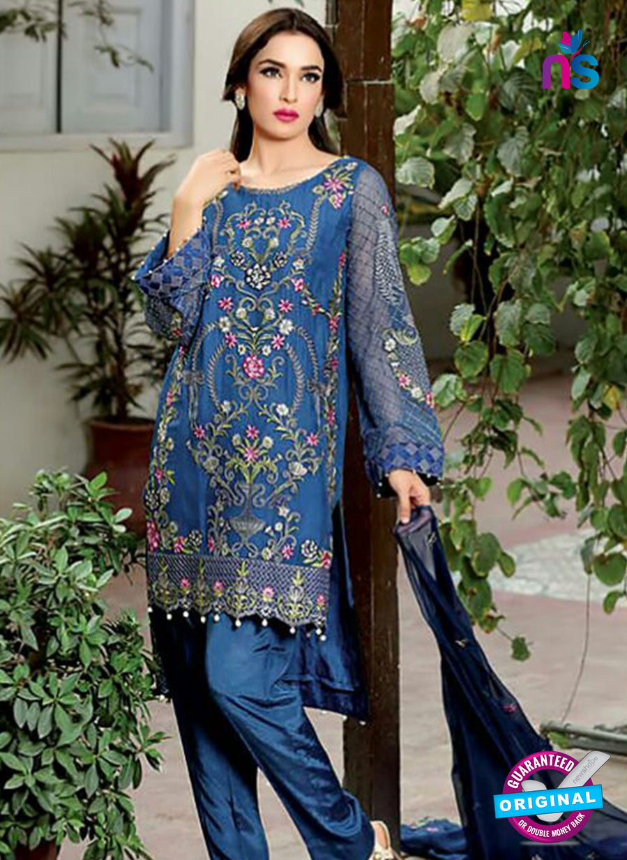 SC 13999 Blue Georgette Latest Exclusive Fancy Function Wear Pakistani Suit