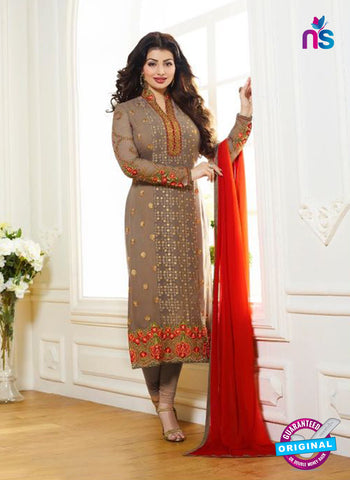 Zubeda 7002 Brown Brasso Embroidered Party Wear Suit