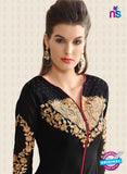 Nirvana 7003 Black Georgette Party Wear Suit Online
