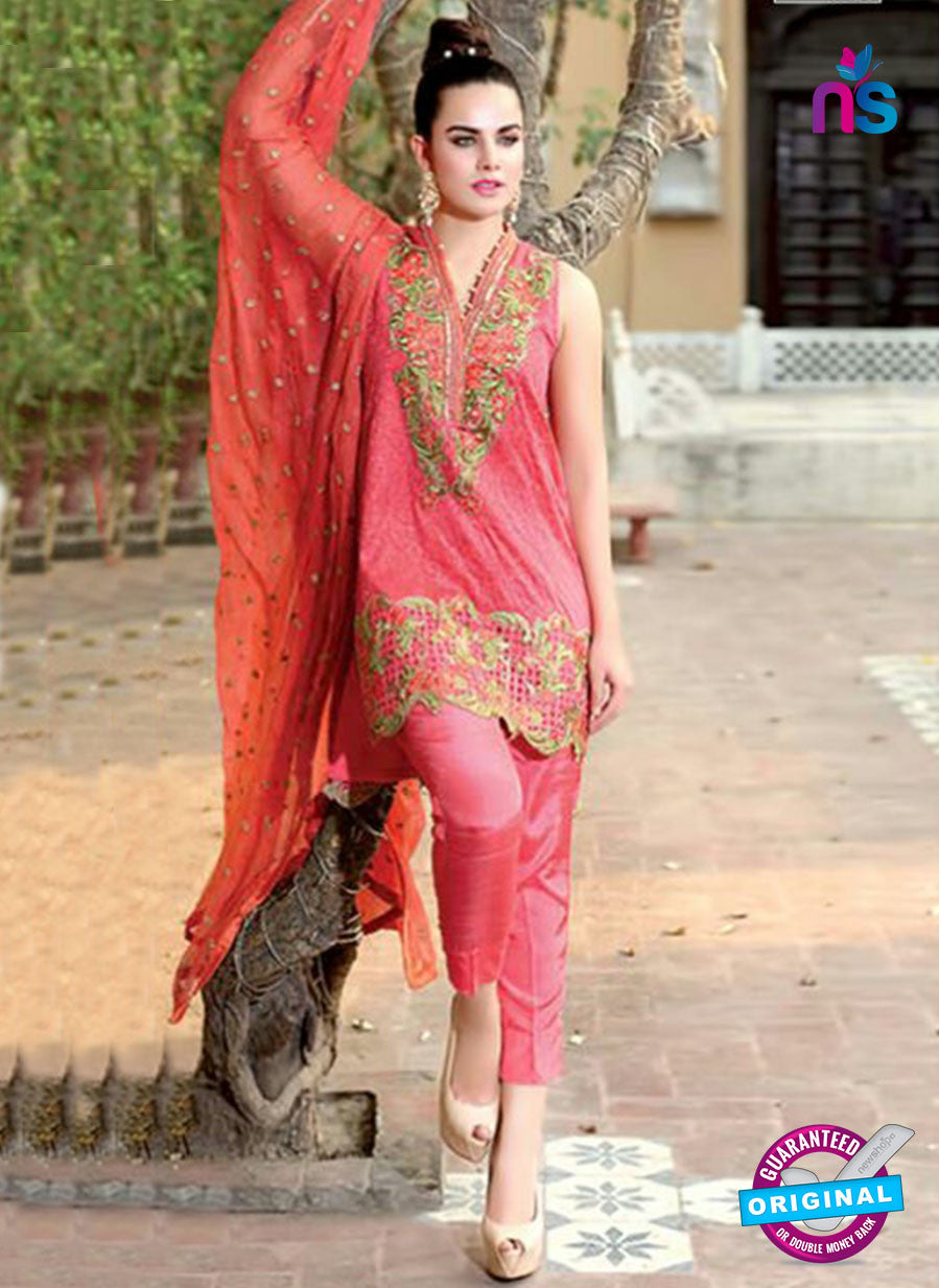 SC 13994 Pink Georgette Latest Exclusive Fancy Function Wear Pakistani Suit