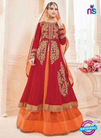 Moonlight 7003 Red Indo Western Suit