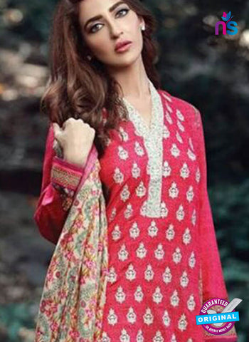 Shree Fabs 7003 Pink Formal Cotton Suit