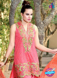 SC 13994 Pink Georgette Latest Exclusive Fancy Function Wear Pakistani Suit Online